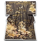 [和楽屋] ◆豪華絢爛 金糸 金彩加工 松竹梅 最高級 訪問着◆