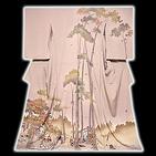 [和楽屋] ◆【最高級 通産大臣賞受賞】 本染め 平安絵巻 訪問着◆