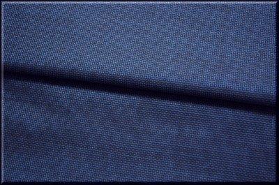 画像2: ■男物 本場奄美大島紬 亀甲柄 紺色 「碇山昭光」謹製 着物羽織 疋物 アンサンブル■