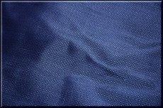 画像4: ■男物 大島紬 亀甲柄 光沢感のある濃紺色 着物羽織 疋物 アンサンブル■ (4)