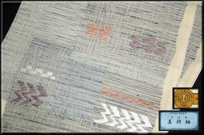 画像2: ■「真綿紬」 田中織物謹製 正絹 夏物 絽 袋帯■