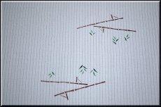画像3: ■「竹馬で遊ぶ男の子」 可愛い 夏物 絽ちりめん 落款入り 名古屋帯■ (3)