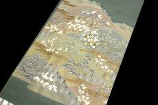 画像3: ■手縫いお仕立て付き 松竹梅 金駒刺繍入り 浜ちりめん 色留袖■ (3)