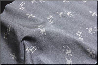 画像3: ■「粋夏絣」 伝統 手織工芸絣 夏物 正絹 紬■