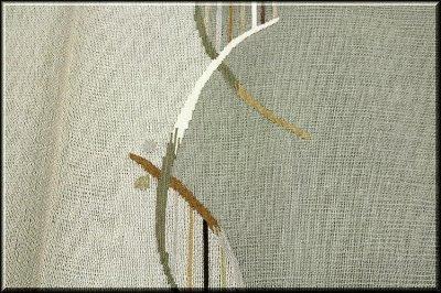 画像3: ■モダンでお洒落な 素朴な風合い 太鼓柄 正絹 夏物 紗 袋帯■