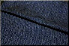 画像3: ■男物 大島紬 亀甲柄 濃紺色 着物羽織 疋物 アンサンブル■ (3)