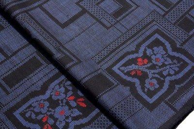 画像2: ■手縫い仕立て付き 古代染色純泥染 本場奄美大島紬 7マルキ 紬■