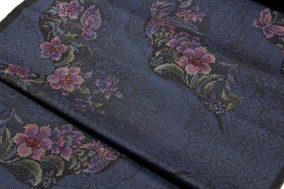 画像2: ■手縫い仕立て付き 「株式会社 大山」 古代染色純泥染 本場大島紬 7マルキ 紬■