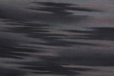 画像2: ■「本場縞大島紬」 純絹織物 ボカシ 付下げ■