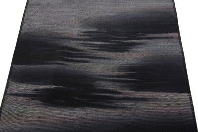 画像3: ■「本場縞大島紬」 純絹織物 ボカシ 付下げ■