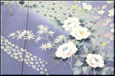 画像4: ■本加賀友禅の巨匠 染め師 「寺西 英樹」作 【光琳の調べ】 訪問着■ (4)