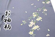 画像5: ■本加賀友禅の巨匠 染め師 「寺西 英樹」作 【光琳の調べ】 訪問着■ (5)