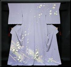 画像1: ■本加賀友禅の巨匠 染め師 「寺西 英樹」作 【光琳の調べ】 訪問着■ (1)