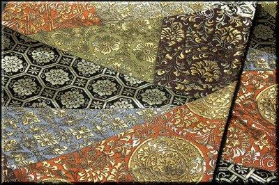 画像3: ■京都西陣織「橋本清織物」謹製 瑞祥錦 黒地 豪華絢爛 袋帯■