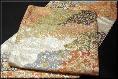 画像2: ■京都西陣織「橋本清織物」謹製 瑞祥錦 豪華絢爛 袋帯■