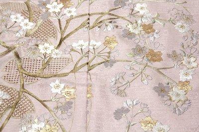 画像1: ■「山口美術織物 総刺繍」 蘇州刺繍 スワトウ刺繍 日本の絹 丹後ちりめん 訪問着■