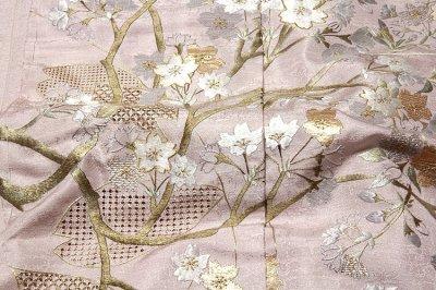 画像2: ■「山口美術織物 総刺繍」 蘇州刺繍 スワトウ刺繍 日本の絹 丹後ちりめん 訪問着■