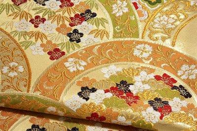 画像3: ■「薫風青海華文-絢爛」 大光織物謹製 正絹 袋帯■
