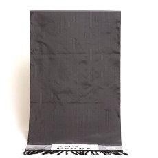 画像1: ■【中村工房 米沢】 「鷹山織-なせばなる」 縦縞 男物 正絹 紬■ (1)
