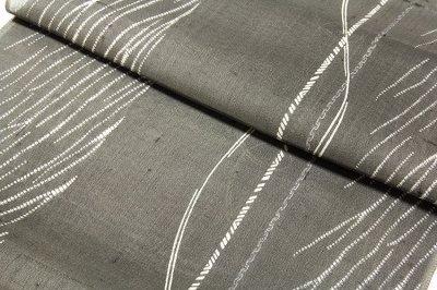 画像2: ■「別誂 夏芭蕉」 十日町 白新染織謹製 天然繭 夏物 正絹 紬■