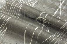 画像4: ■「別誂 夏芭蕉」 十日町 白新染織謹製 天然繭 夏物 正絹 紬■ (4)