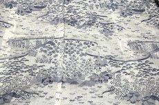画像5: ■「本場小千谷紬織物-古志乃」 大新織物 茶屋辻之図 夏物 訪問着■ (5)