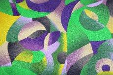 画像4: ■「釜座-KAMANZA」 モダンでオシャレな 染め分け 総柄 小紋柄 ジュニア 十三参り 正絹 着物■ (4)
