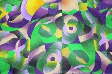 画像3: ■「釜座-KAMANZA」 モダンでオシャレな 染め分け 総柄 小紋柄 ジュニア 十三参り 正絹 着物■ (3)