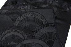画像3: ■京都西陣「双葉織物謹製」【夏冬ペア-2本組】 喪服 九寸 名古屋帯■ (3)