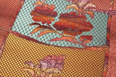 画像3: ■「筬音の美」 黒木織物謹製 緑印 正絹 8寸 本場筑前博多織 名古屋帯■