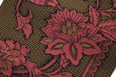 画像4: ■「豊原織物謹製-緑印」 はかたの華 正絹 本場筑前博多織 8寸 名古屋帯■ (4)