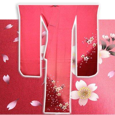 画像2: (訳ありアウトレット品)■「仕立て上がり-正絹」 華やか 桜尽くし ボカシ 振袖■