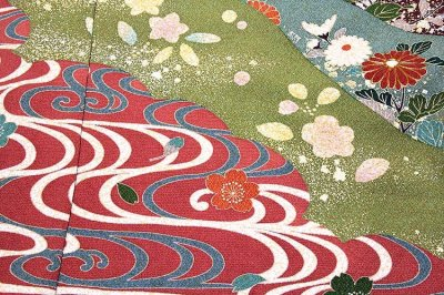 画像2: ■染め分け 金駒刺繍 金彩加工 たたき染め 華やかで豪華な 振袖■