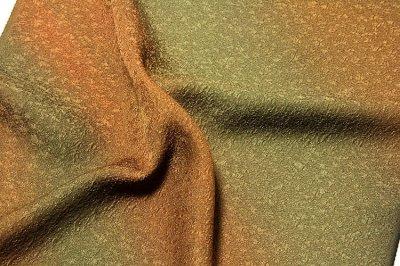 画像3: ■「ロングコート 丹後ちりめん」 ボカシ染め 正絹 羽尺■
