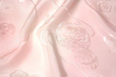画像3: ■「高級-振袖用」 可愛らしい マリ柄 振りボカシ 正絹 長襦袢■