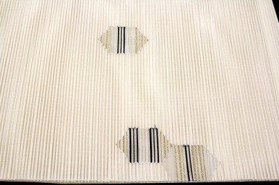 画像3: ■「正絹」 夏物 絽つづれ オシャレ 平仕立て 仕立て上がり 八寸 名古屋帯■