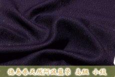 画像4: ■「徳島県天然阿波藍染」 スリーシーズンのコートにも 夏物 正絹 紋紗 小紋■ (4)