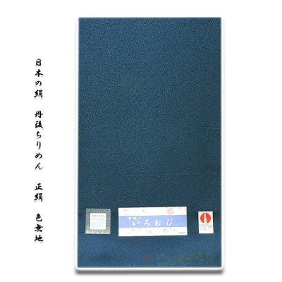 画像3: ■「日本の絹-丹後ちりめん」 地紋 正絹 色無地■