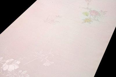 画像3: ■【訳あり】美しい花柄にボカシ染め 玉ゆら 丹後ちりめん 正絹 長襦袢■