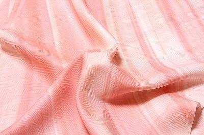 画像3: ■【訳あり】オシャレで美しいボカシ ピンクベージュ色系 正絹 長襦袢■