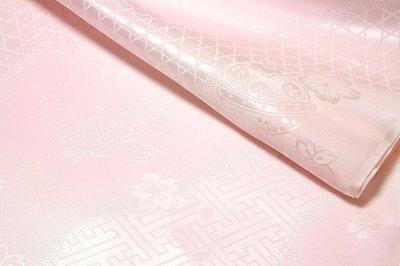 画像3: ■鈴柄 桜柄 ボカシ 正絹 長襦袢■