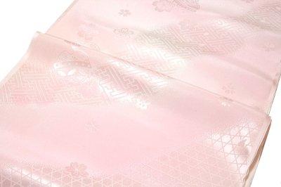 画像2: ■鈴柄 桜柄 ボカシ 正絹 長襦袢■
