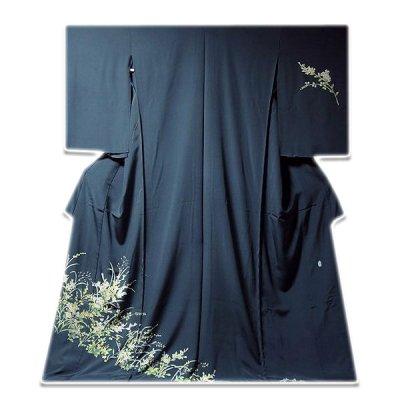 画像1: ■手縫い仕立て付き!本加賀友禅 「南克治」作 四季の花 訪問着■