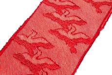 画像2: ■「総絞り-飛び鶴」 振袖に最適 正絹 帯揚げ 金糸織 丸組 帯締め セット■ (2)