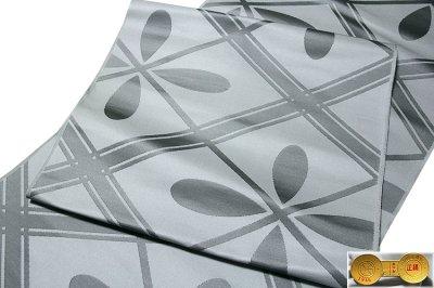 画像2: ■【訳あり】「法事」 船岡西陣織物謹製 正絹 九寸 名古屋帯■