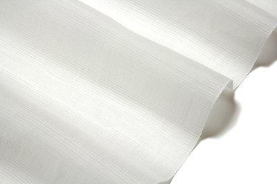 画像3: ■「本場 小千谷ちぢみ」 有機栽培 オーガニック麻糸使用 【杉山織物謹製】 白色 本麻 夏物 絽 長襦袢■