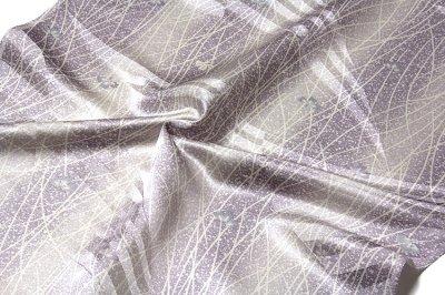 画像3: ■「キングサイズ-単衣にも」 日本の絹 丹後紋綸子ちりめん生地使用 正絹 小紋■