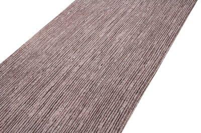 画像1: ■【訳あり】粋な縞柄 江戸鼠色 高級ちりめん使用 オシャレ 正絹 小紋■