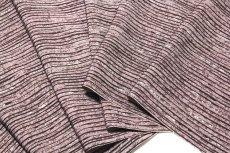 画像3: ■【訳あり】粋な縞柄 江戸鼠色 高級ちりめん使用 オシャレ 正絹 小紋■ (3)
