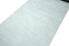 画像2: ■「日本の絹:丹後ちりめん生地使用」 藍白色系 地紋 堅牢染 正絹 色無地■ (2)
